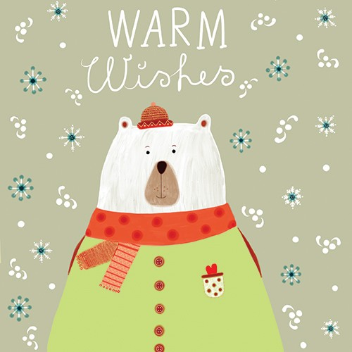 Valeria Valenza Illustration - valeria valenza, licensing, greetings cards, digital, pattern, text, christmas, festive, bear, animal, cute, sweet, colourful